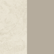 Clay bicolored perlage