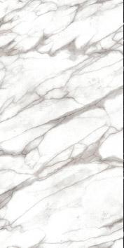 White Carrara melamine with marble effect